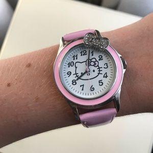 Pink, Hello Kitty watch